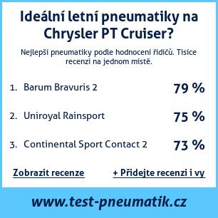 Test pneumatik na Chrysler PT Cruiser