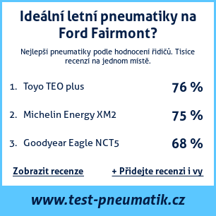 Test pneumatik na Ford Fairmont