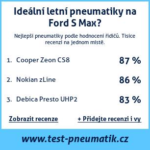 Test pneumatik na Ford S Max
