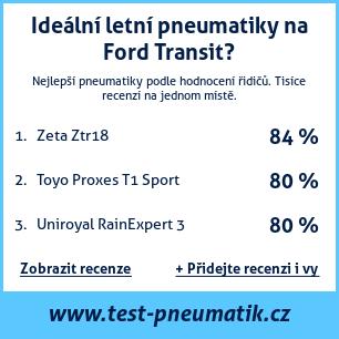 Test pneumatik na Ford Transit