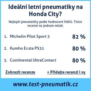 Test pneumatik na Honda City