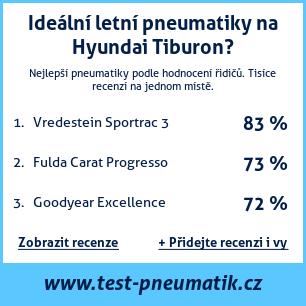 Test pneumatik na Hyundai Tiburon