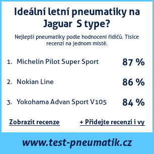 Test pneumatik na Jaguar  S type