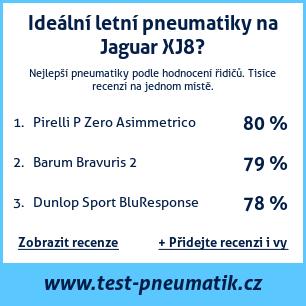 Test pneumatik na Jaguar XJ8