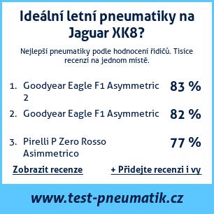 Test pneumatik na Jaguar XK8