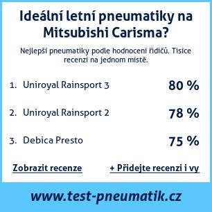 Test pneumatik na Mitsubishi Carisma