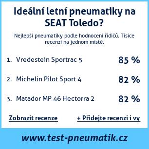 Test pneumatik na SEAT Toledo