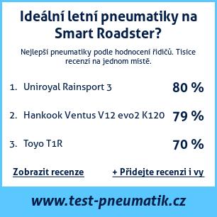 Test pneumatik na Smart Roadster