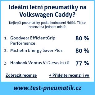 Test pneumatik na Volkswagen Caddy