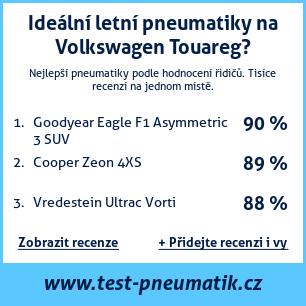 Test pneumatik na Volkswagen Touareg