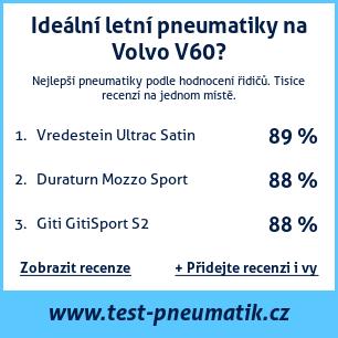 Test pneumatik na Volvo V60