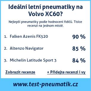 Test pneumatik na Volvo XC60