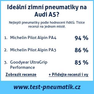 Test pneumatik na Audi A5