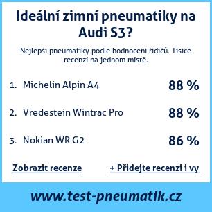 Test pneumatik na Audi S3
