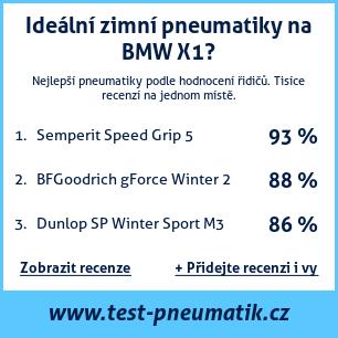 Test pneumatik na BMW X1