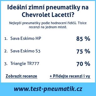 Test pneumatik na Chevrolet Lacetti