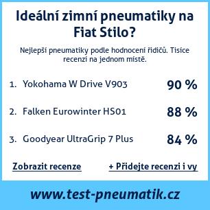 Test pneumatik na Fiat Stilo