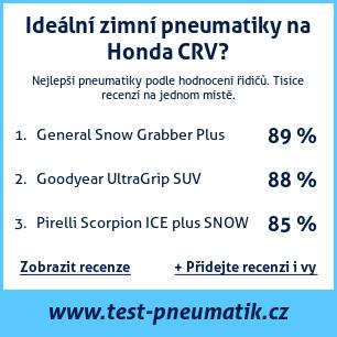 Test pneumatik na Honda CRV