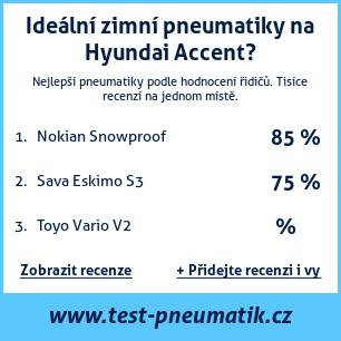 Test pneumatik na Hyundai Accent
