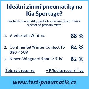 Test pneumatik na Kia Sportage