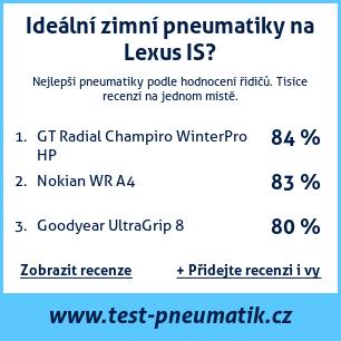 Test pneumatik na Lexus IS