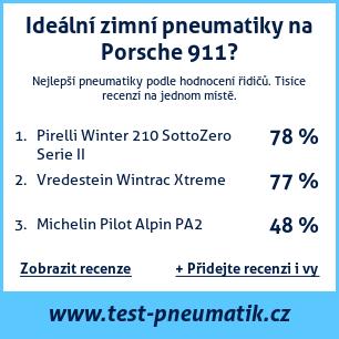 Test pneumatik na Porsche 911