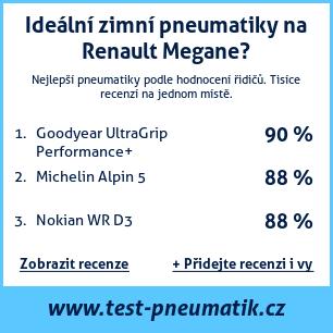 Test pneumatik na Renault Megane
