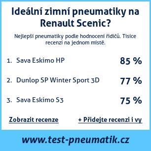 Test pneumatik na Renault Scenic