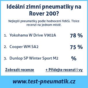 Test pneumatik na Rover 200