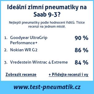 Test pneumatik na Saab 9-3