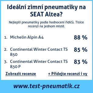 Test pneumatik na SEAT Altea