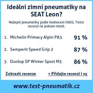 Test pneumatik na SEAT Leon