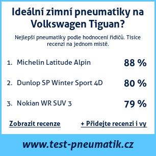Test pneumatik na Volkswagen Tiguan