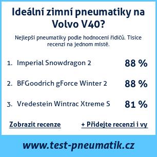 Test pneumatik na Volvo V40